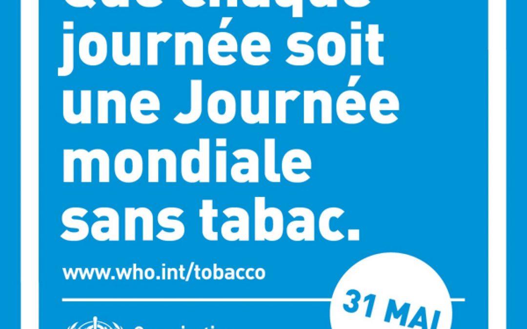 AU mois de mai fais ce qu'il te plait – Journée Mondiale Sans Tabac